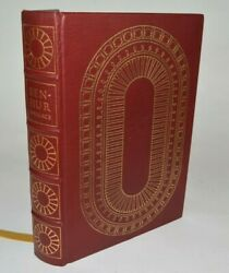 The Easton Press Ben-hur Lew Wallace Red Leather Bound Book 1960