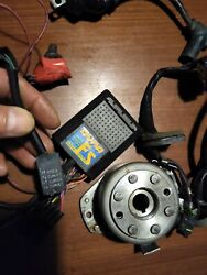2001 Cr250 Flyweel Stator Coil Tested Blue Spark Programmable Cdi Dyna Fs 4 Map
