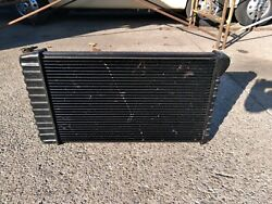 Harrison 69-72 Manual 4 Speed Radiator X J And I A Tanks 3 Row Chevelle Gm A