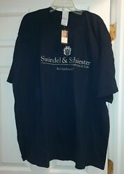 Nwt Swindel And Schiester Attorneys At Law T-shirt Menand039s Xxl Blue Vintage 90and039s