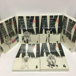 Akira Full Color Ver. Technicolor All 6 Volumes Complete Set First Edition Used