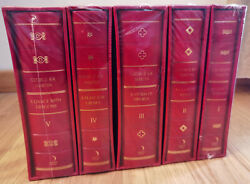 A Song Of Ice And Fire/game Of Thrones - Set Of 5 Books - Red Slipcase Limited
