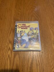 The Simpsons Game Sony Playstation 3, 2007. Brand New, Factory Sealed.