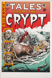 Tales From The Crypt Mondo Poster Print 24x36 Brandon Holt Signed