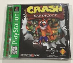 Crash Bandicoot Complete Sony Ps Playstation 1 Ps1 Brand New Factory Sealed