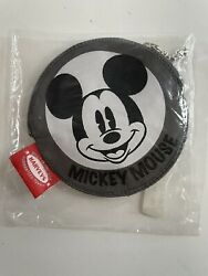 Harvey's Bag Mickey Mouse Zip Coin Purse Pouch Brand New In Bag Rare 🇺🇸