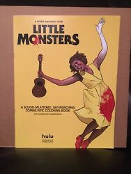Little Monsters Coloring Book Zombies Hulu Horror Comedy Promotional Promo New M