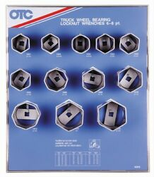 Otc Tools 9852 Locknut Wrench Display With Tools And Board