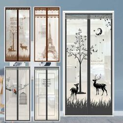 Magics Curtain Door Mesh Magnetic Fastening Mosquito Fly Bug Insect Net Screen