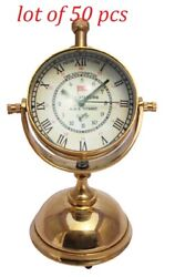 New Nautical Brass Beautifully New Design Clock Collectible Décor And Gift Item