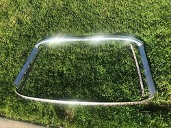 1966 Mustang Convertible Windshield Stainless Moldings Trim Set