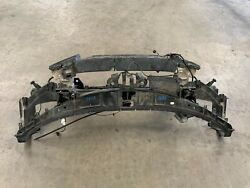 13-14 Audi A8 A8l Front Radiator Support Rebar Impact Bar Assembly 1181 Oem