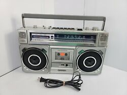 Sanyo M9965 Vintage 80s Ghetto Blaster Hip Hop Nyc Used Japan 1 Owner