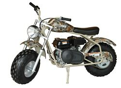 Back In Stock 200cc Mini Bike Gas Power For Adult Camouflage 🇺🇸 Fast Delivery
