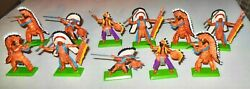 11 Britains Indians Deetail  Made In England In 1971