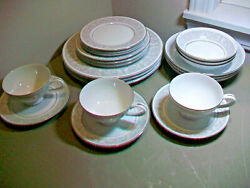 21 Pc Set Imperial China W. Dalton Whitney 5671 3 Place Settings Excellent