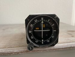 Bendix/king Ki-206 Vor/loc/ And Glideslope Indicator With Fresh Faa Form 8130