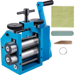 Vevor 3 75mm Manual Combination Rolling Mill Machine Jewelry Press Roller Us