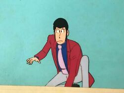 Lupin The Third B12 Cel Picture Anime Jp Production Original N532