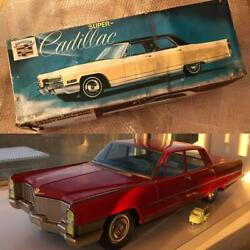 Nomura Toy Cadillac Oversized Tin Total Length Approx. 64 Cm