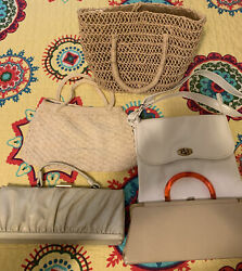 Set of 5 Vintage Purses Collection