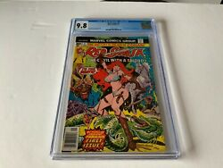 Red Sonja 1 Cgc 9.8 She Devil With A Sword Marvel Comics 1977