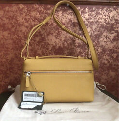 loro piana Crossbody Leather Bags Shoulder Pouch Odessa 2861 NWT $998.00