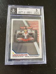 Lewis Hamilton 2009 Si For Kids 360 True Rc Rookie Card Bgs Low Pop Graded