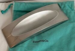 Rare And Co Sterling Silver Streamerica Collection Pen Tray