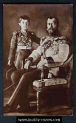 Russia Real Photo Postcards Lot Of 5, 1900 Czar Of Russia Royal Family