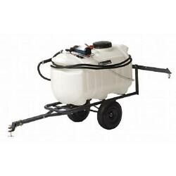 Tow Behind Sprayer Lawn Garden 25 Gal. Pull Mower Tractor 1.8 Gpm 60psi Durable