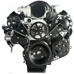 Eddie Motorsports Ms107-62bmb S-drive Complete Serpentine Pulley Drive System Ls