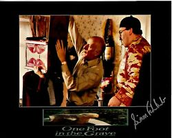 Simon Fisher-becker Hand-signed One Foot In The Grave 8x10 Scene W/ Uacc Rd Coa