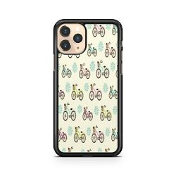 Colourful Bikes Pattern Bike Rider Bicycle Cycling Fitness Phone Case Cover