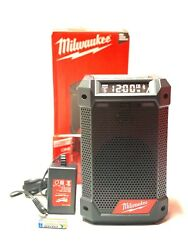 Milwaukee 2951-20 M12 Radio/bluetooth Speaker W/built-in Charger Tool Only New