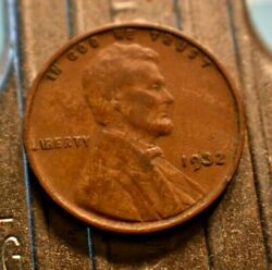 1932-p Lincoln Wheat Cent 1c With Woodie Surface Errors.  8014