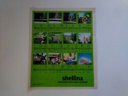 Shellina Shell Gasoline Gas Station Petrol Motor Oil Ad Clipping Holland 1970s