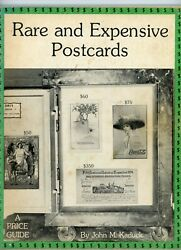 Rare Expensive Collectible Postcards - Illustrated Value Guide Book