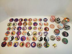 Vintage Lot Of 200+ Various Pogs Toys Game Collectables