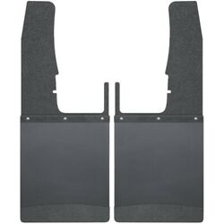Husky Liners 17103 Kick Back Mud Flaps 12 Inches Wide Black Top And Black Weight F