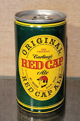 1977 Carling's Red Cap Ale Pull Tab Beer Can Carling National Brewing 5 City
