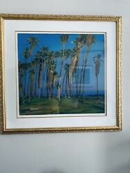 Rod Goebel Palms - Taos Six Society Of Artists 1946-1993 Signed Number 254/300