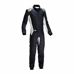 Omp Italy One S My20 Racing Suit Black Fia Homologation 54