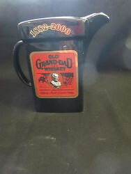 Vintage 1882-2000 Old Grand-dad Whiskey Pitcher Limited Edition No. 1 Of 550