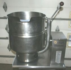 Groen Kettle Tdb/7-40 Countertop 40 Quart Jacketed 208 Volt 1 Or 3 Phase Tested
