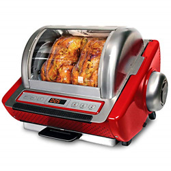 Ronco Showtime Ez-store Large Capacity Rotisserie And Bbq Oven Digital Controls