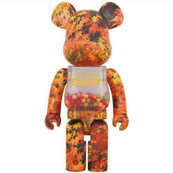 Be@rbrick B@by1000 Autumn Leaves Medicom Toy New Rare From Japan