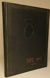 1947 Southern California Military Academy Yearbook Long Beach, Ca 'taps'