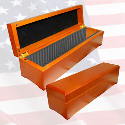 Wood Display Box For 30 Graded Coins
