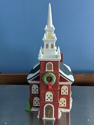 Department Dept 56 Old North Church Paul Revere New England Village Series 59323